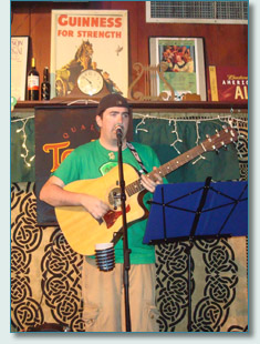 Kieran Murphy at O'Tooles Pub, Honolulu, St.Patrick's Day 2009