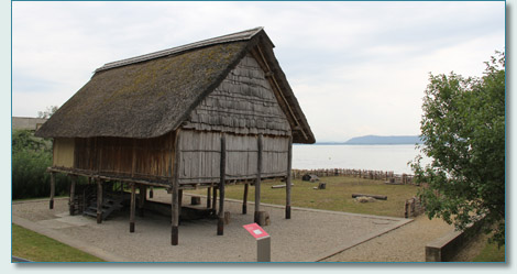 Bronze Age house, Latenium, Neuchatel