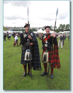 Lonach Highlanders at The Gathering 2009, Edinburgh