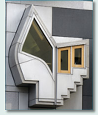 MSP Building bay window, Scottish Parliament, Edinburgh