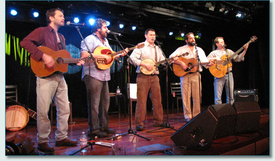 Makem and Spain Brothers on the Irish Music Cruise 2010