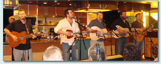 Makem and Spain Brothers, Irish Music Cruise 2009