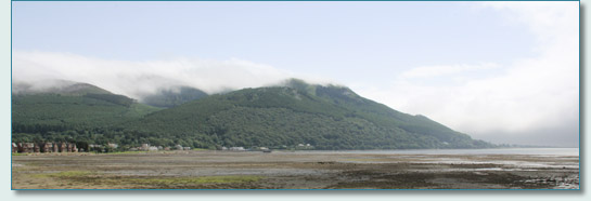 Mountains of Mourne at Carlingford Bay, Co.Down