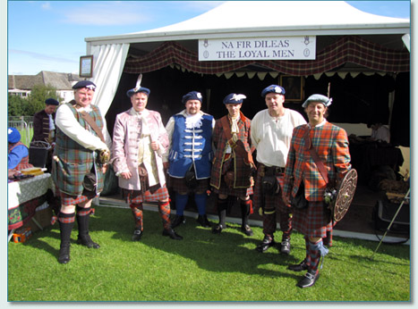 Na Fir Dileas (The Loyal Men), at The Gathering 2009, Edinburgh