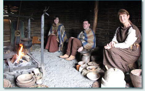 Ancient Celts at the Navan Fort Centre, Co.Armagh