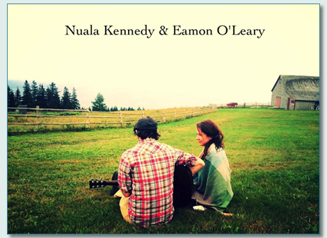 Nuala Kennedy and Eamon O' Leary