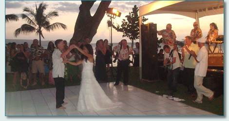 Michael and Tiara O'Dwyer's first dance