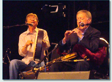 Paddy Moloney and Kevin Coneff - The Chieftains at Surrey Fusion Festival, BC