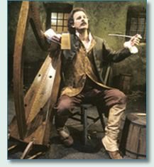 Patrick Ball as O'Carolan