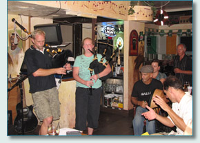 Celtic music session at Mulligans at the Wharf in Lahaina