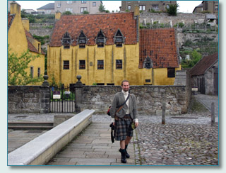 Scot AnSgeulaiche at Culross, Kingdom of Fife, Scotland