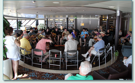 Session on the Irish Music Cruise 2012