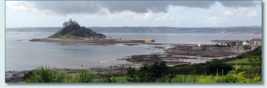 St.Michael's Mount, near Penzance, Cornwall.