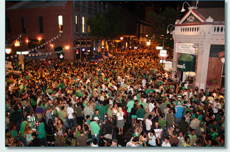 St.Patrick's Day Blockparty, downtown Honolulu 2010