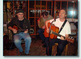 Tim Readman and friends, Cafe Montmatre, Main St., Vancouver