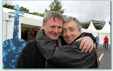 Tony McManus and Neil Martin at NAFCo 12 in Derry