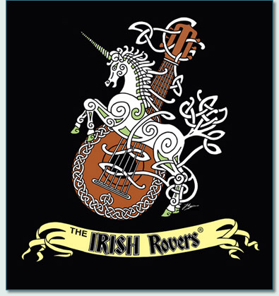 'IRISH ROVERS UNICORN AND MANDOLIN' by Hamish Burgess 2010