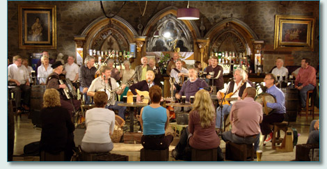 Irish Rovers film-shoot at The Wild Duck Pub, Portglenone, Co.Antrim, September 2010