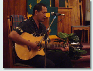 Wilmont Kahaiali'i at The Ka'iulani Project in Lahaina