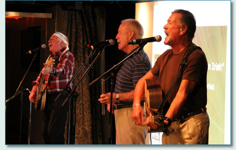 The Wolfe Tones on the Irish Music Cruise 2012