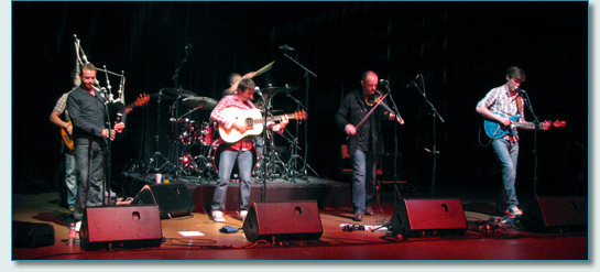 Wolfstone's 20th Anniversary Concert at the Festival Theatre in Pitlochry