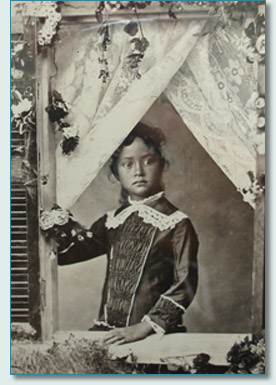 Young Princess Ka'iulani