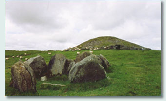 Loughcrew burial mounds