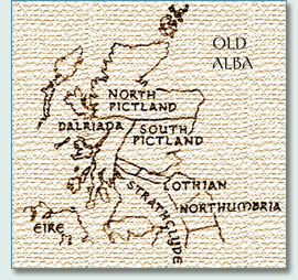 Map of Old Alba