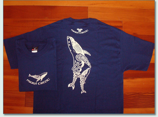 Maui celtic a celtic jewellery bagpiping source on for Whale emblem on shirt
